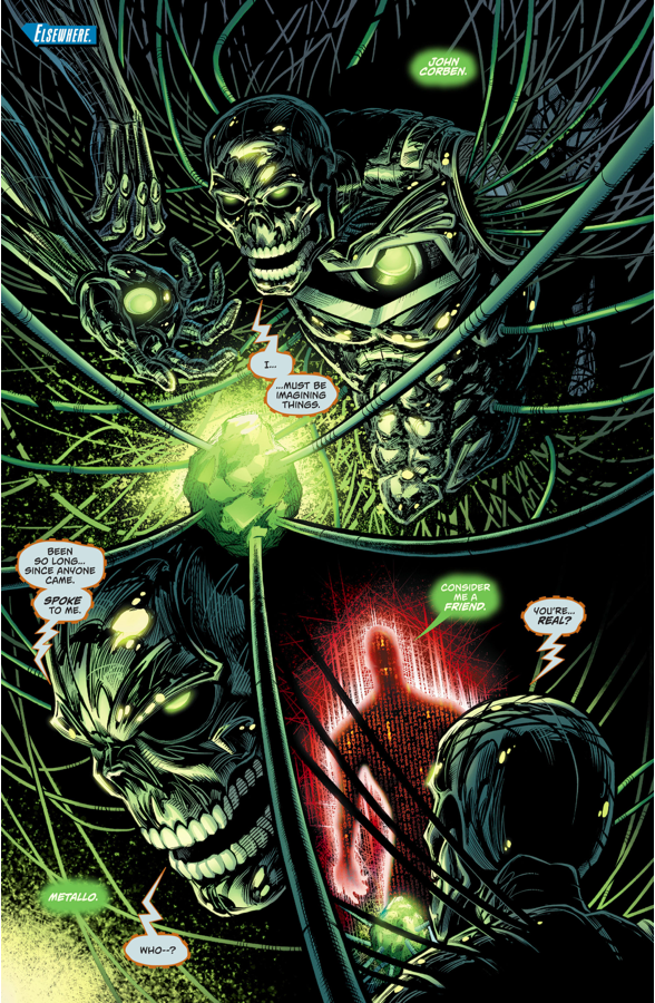 Cyborg-Superman Recruits Metallo