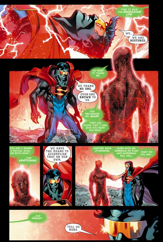 Cyborg-Superman Recruits The Eradicator (Rebirth)