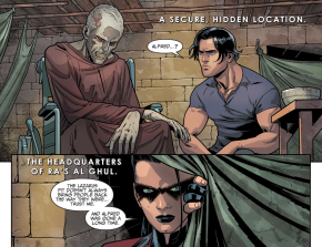 Damian Wayne Resurrects Alfred Pennyworth (Injustice II)