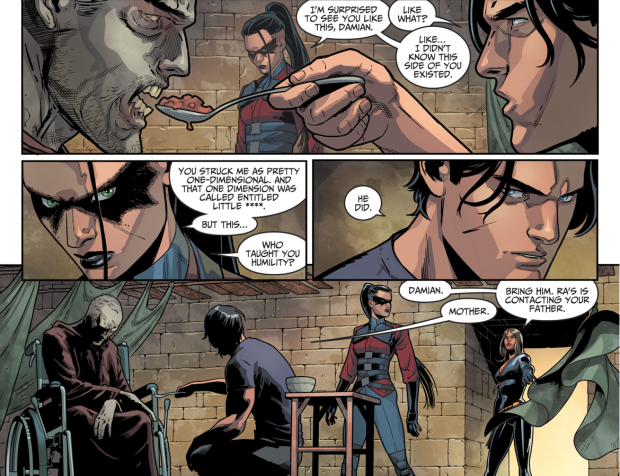 Damian Wayne Resurrects Alfred Pennyworth (Injustice II)