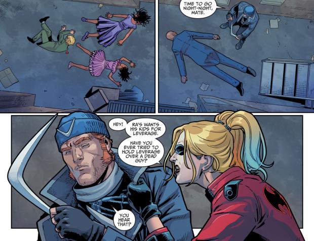 Deadshot Kidnaps Connor Lance-Queen (Injustice II)