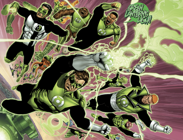 Green Lantern Corps VS Sinestro Corps (Fracture)
