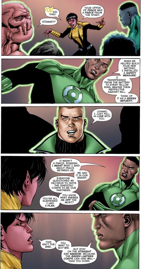 Green Lantern Corps VS Sinestro Corps (Fracture)