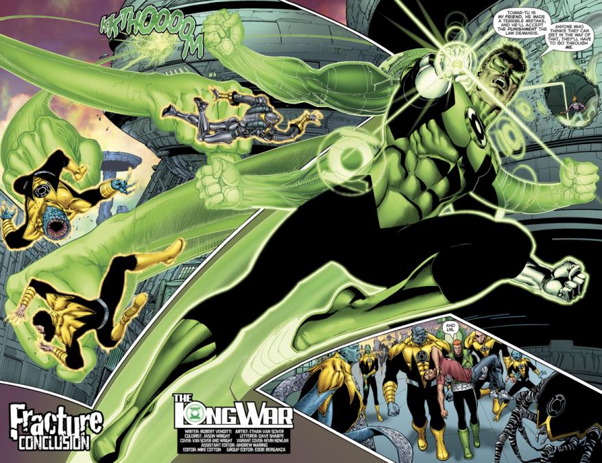 Hal Jordan And The Green Lantern Corps #25
