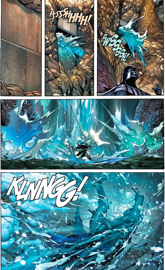 Kirak Infil'a Challenges Darth Vader