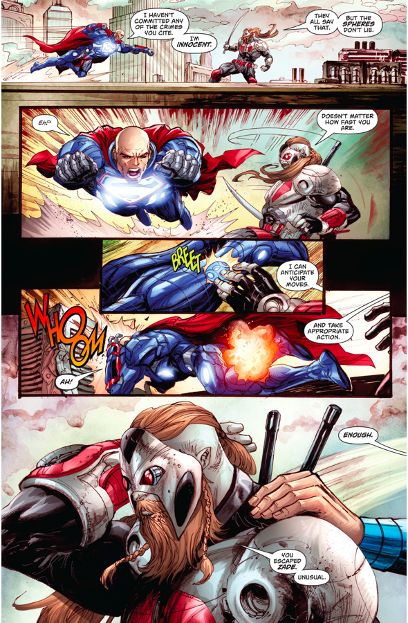 Lex Luthor VS L'Call The Godslayer