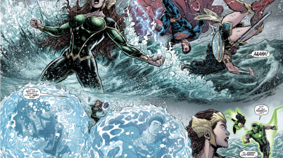 Mera VS The Justice League