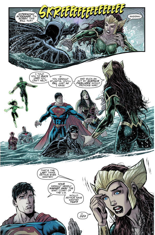 Mera VS The Justice League