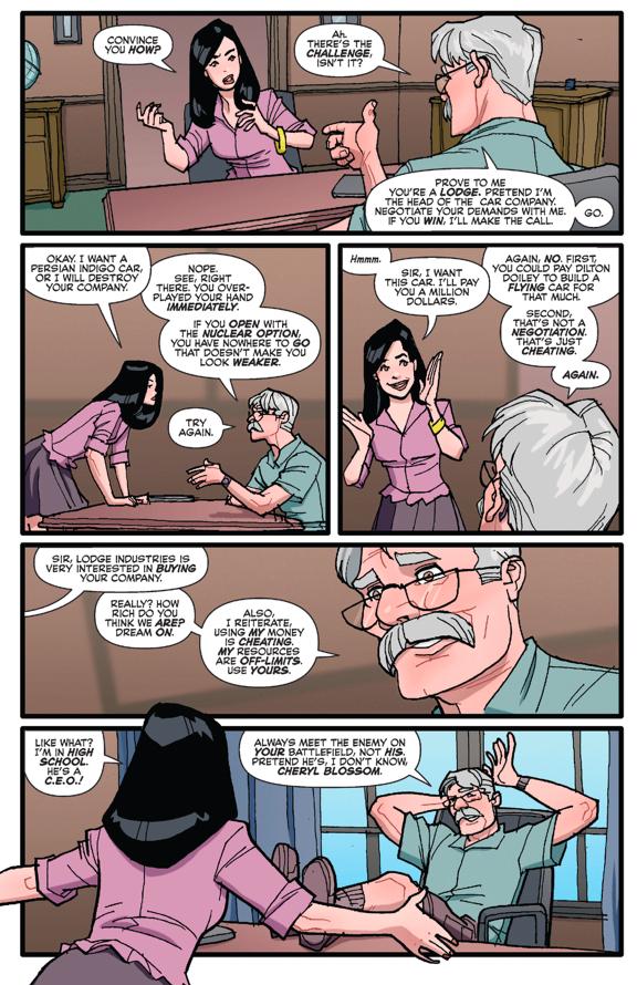 Mr. Lodge Trains Veronica Lodge How To Negotiate