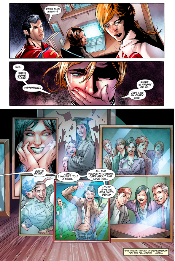 New 52 Lois Lane Is Dead