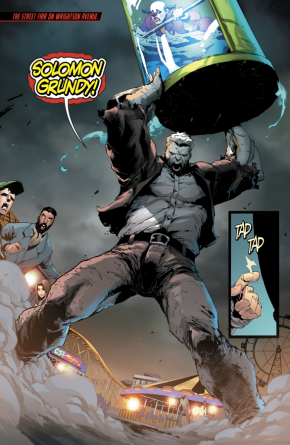 Red Hood And Artemis VS Solomon Grundy (Rebirth)