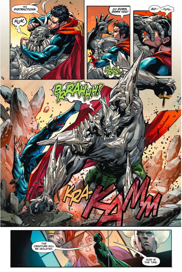 Superman And Wonder Woman VS Doomsday (Rebirth)