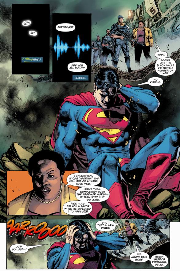 Superman Becomes Blind (Rebirth)