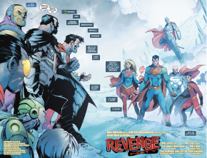 Superman Family VS The Superman Revenge Squad