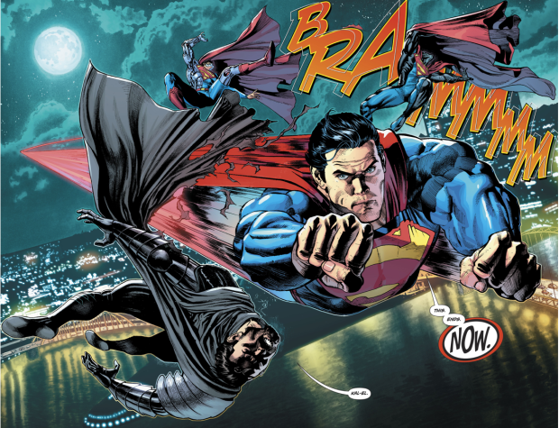 Superman VS General Zod, Cyborg-Superman And The Eradicator