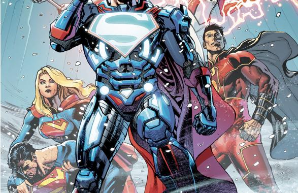 Superman VS The Superman Revenge Squad