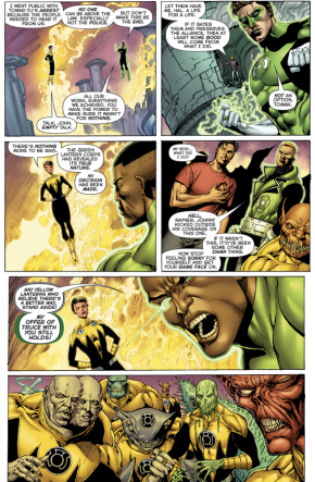 The Green Lantern - Sinestro Corps Alliance Is Dissolved