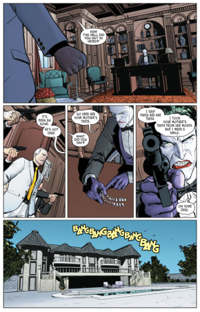 The Joker Kills Carmine Falcone's Mother (Rebirth)