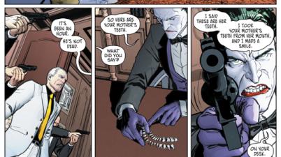 The Joker Kills Carmine Falcone's Mother (Rebirth)