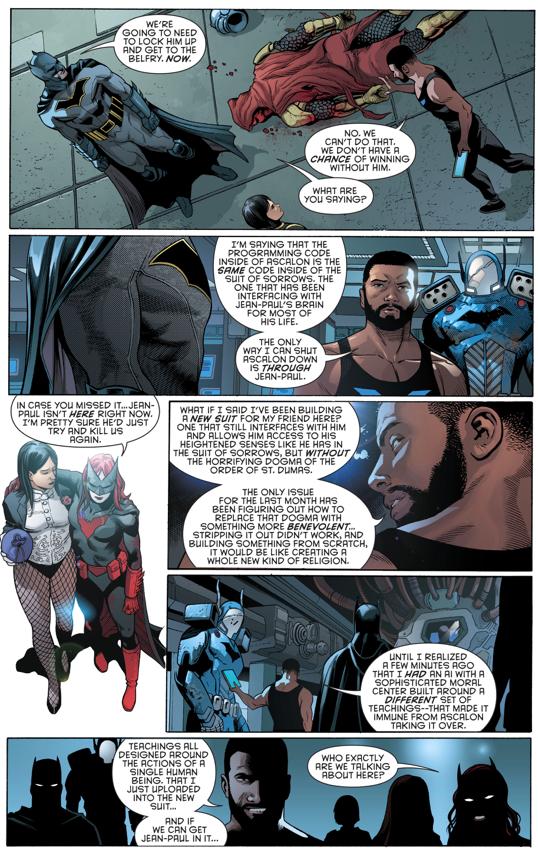 The New Azrael Batsuit (Rebirth)