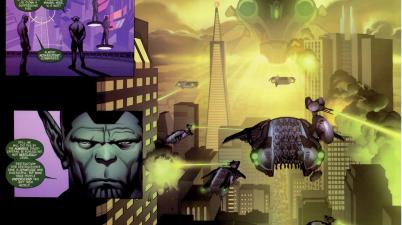 The Skrulls Invade San Francisco (Secret Invasion)