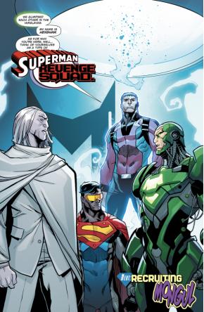 The Superman Revenge Squad (Action Comics #977)
