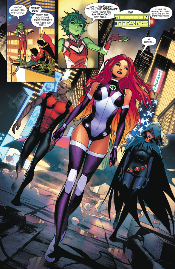 The Teen Titans (Super Sons #6)