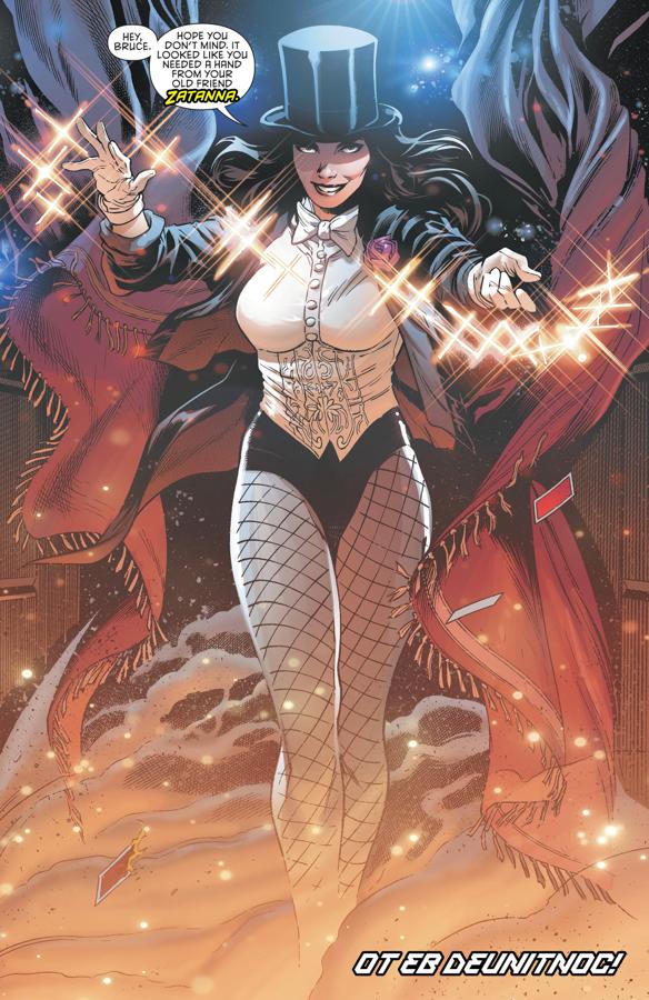 Zatanna (Detective Comics Vol. 1 #958)