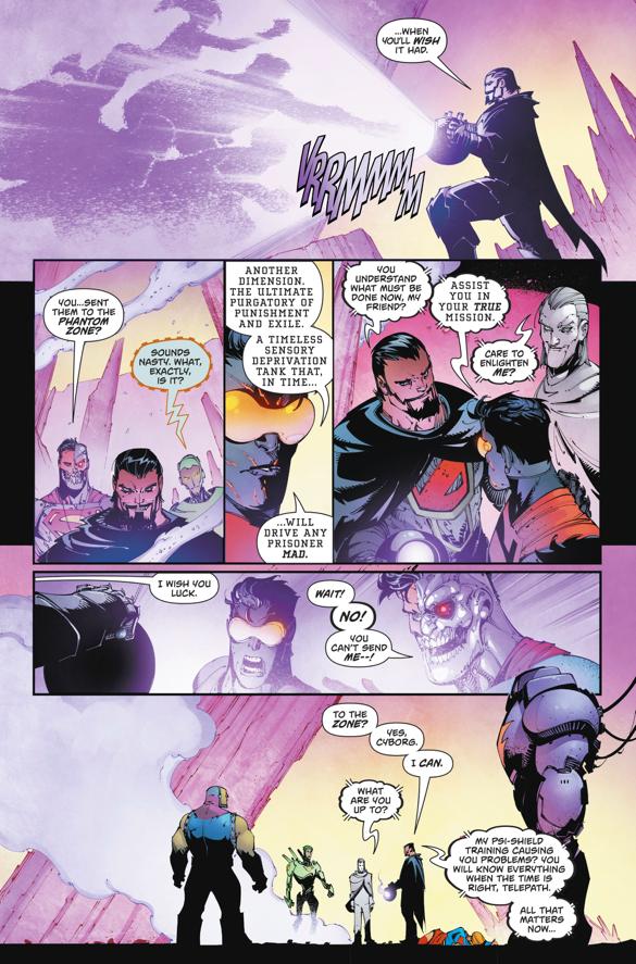 Zod Sends The Superman Family To The Phantom Zone