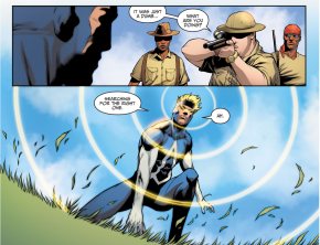 Animal Man Kills Poachers (Injustice II)