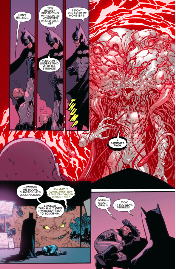 Batman VS Hugo Strange (Rebirth)