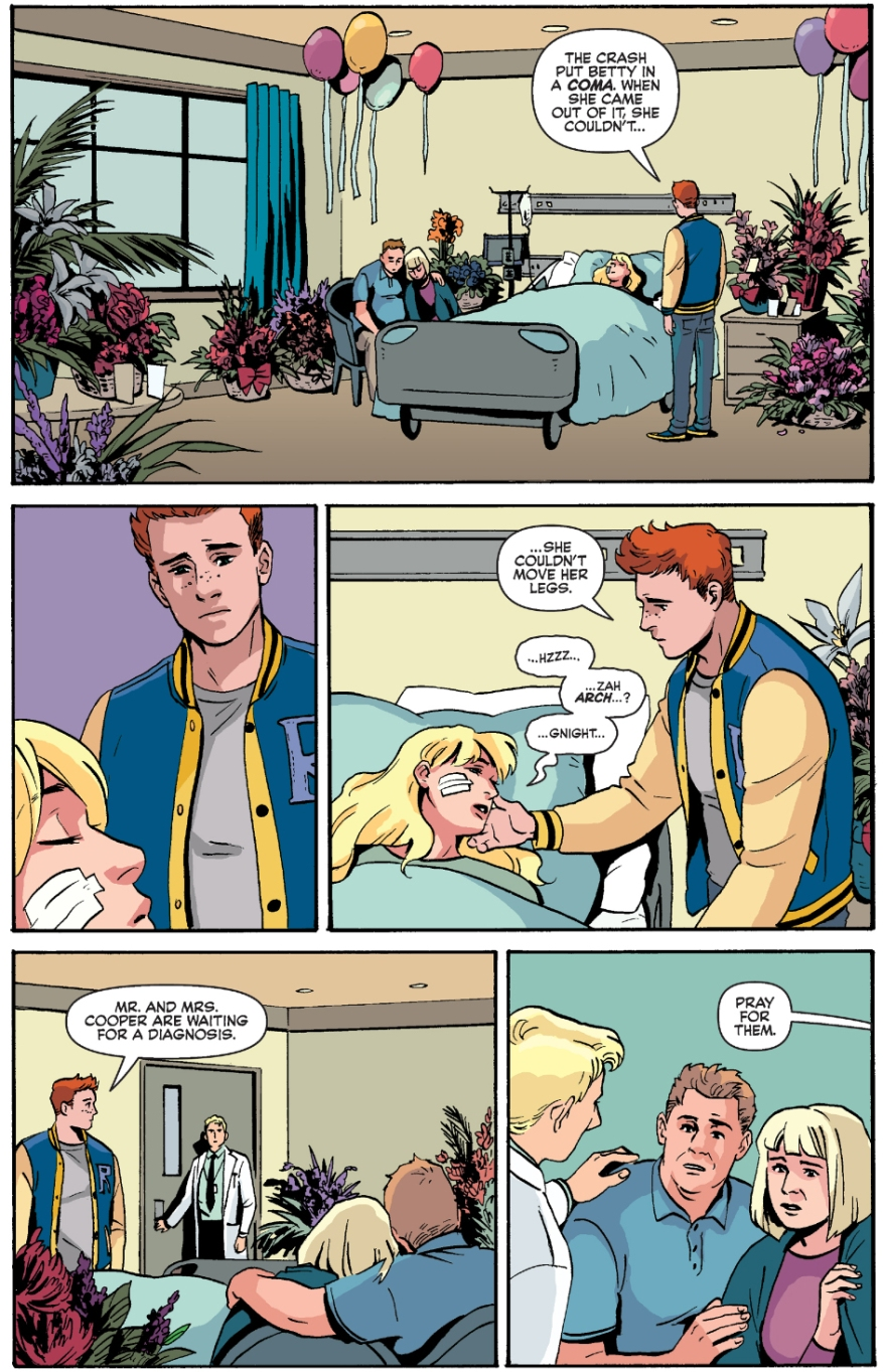 Betty Cooper Is Paralyzed