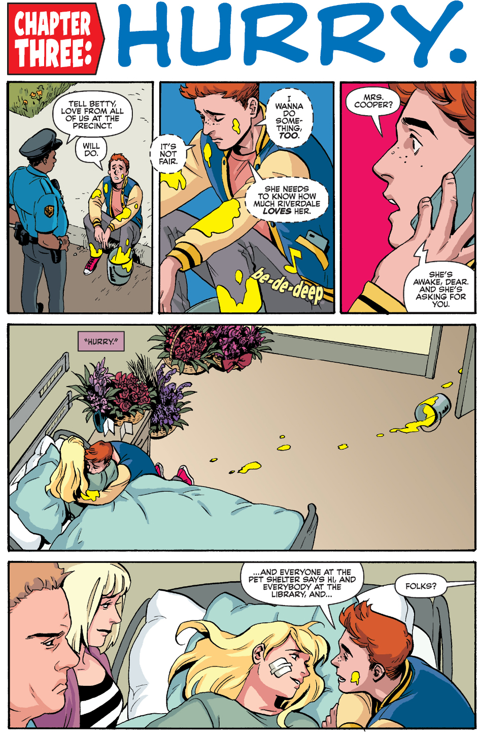 Betty Cooper Is Paralyzed Comicnewbies
