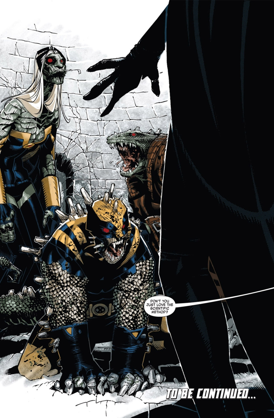 Dark Beast Turns The X-Men Into Lizards