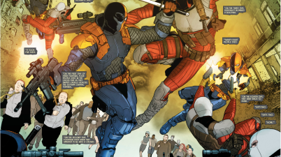 Deathstroke VS Deadshot (Rebirth)