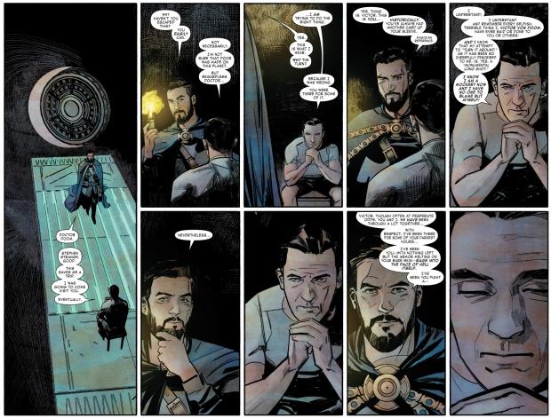 Doctor Strange And Doctor Doom Meditating Together