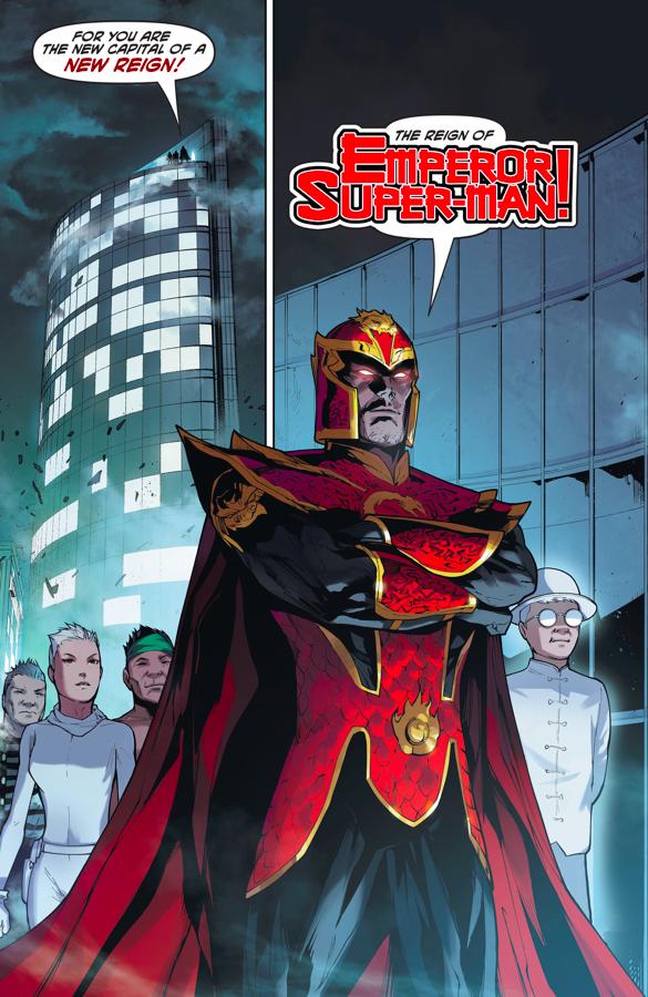 Emperor Super-Man's Imperial Army