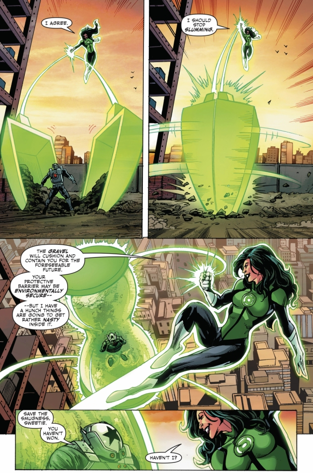 How Jessica Cruz Defeated Black Shield