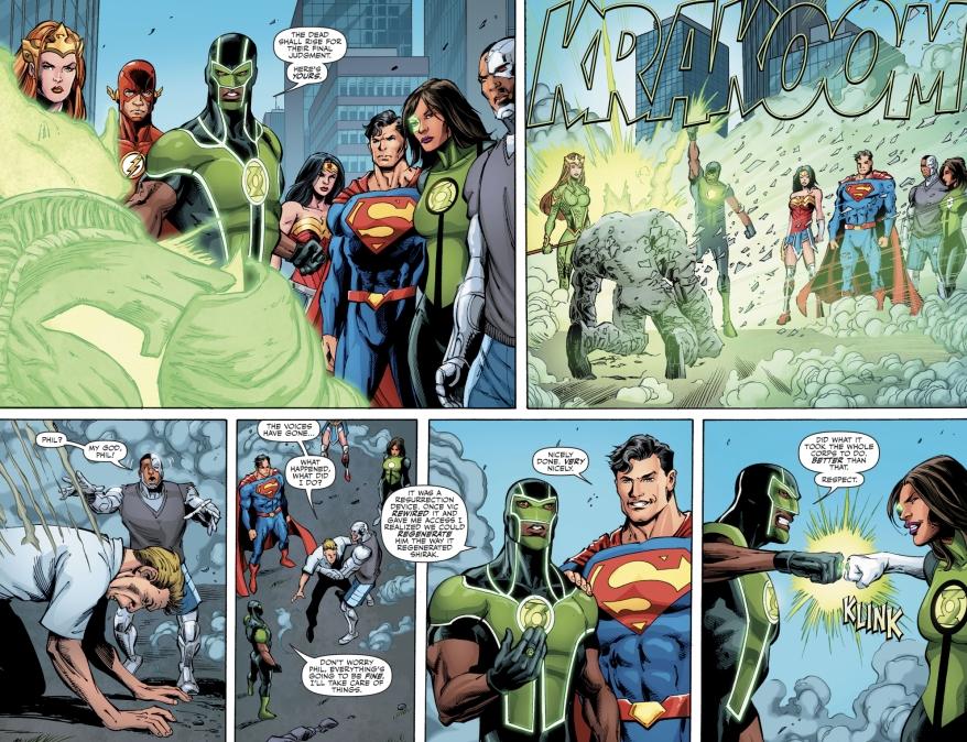 How Simon Baz And Cyborg Defeated Shirak