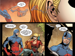 How The Atom Saved Harley Quinn (Injustice II)