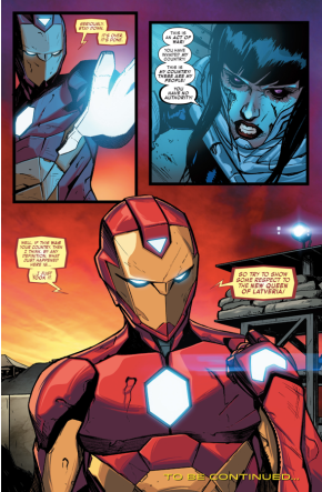 Ironheart As The New Queen Of Latveria