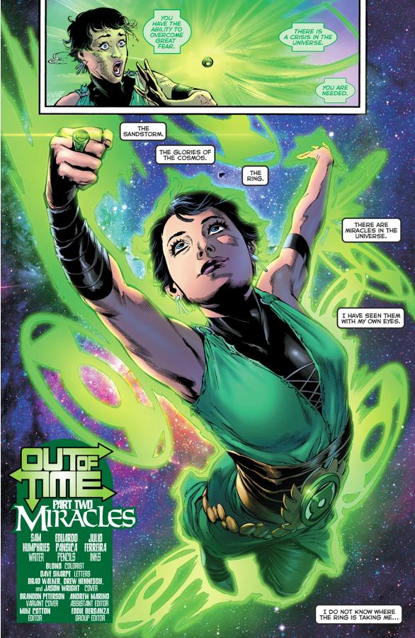 Jan-Al Becomes A Green Lantern