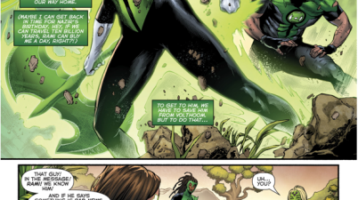 Jessica Cruz Offers To Train The 1st 7 Green Lanterns