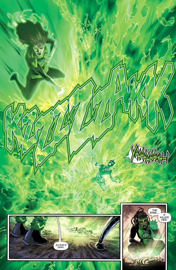 Jessica Cruz Offers To Train The 1st 7 Green Lanterns