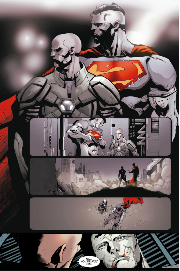 Lex Luthor Saves Bizarro