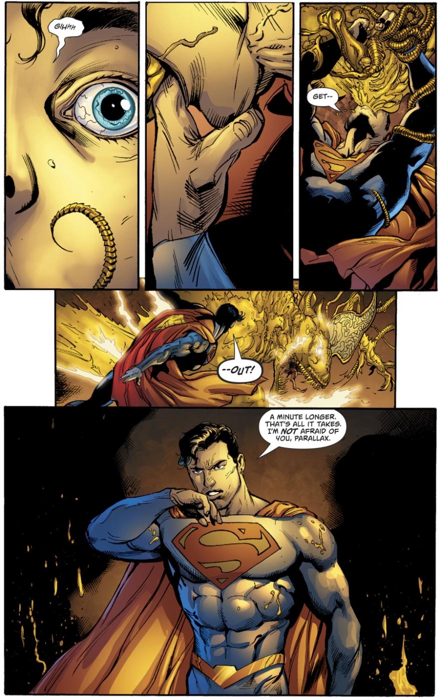 Parallax Possesses Superman