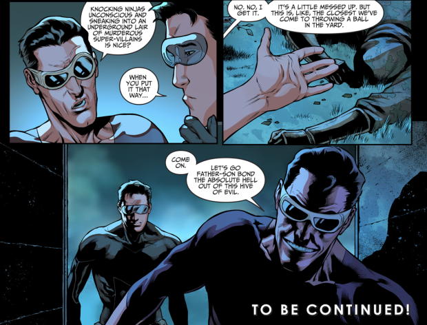 Plastic Man And Son VS League Of Assassins Ninjas (Injustice II)