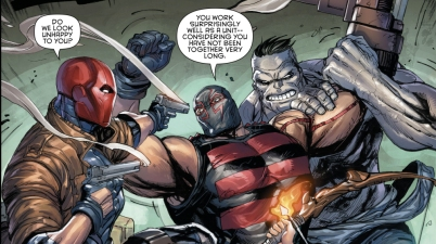 Red Hood And The Outlaws VS KGBeast