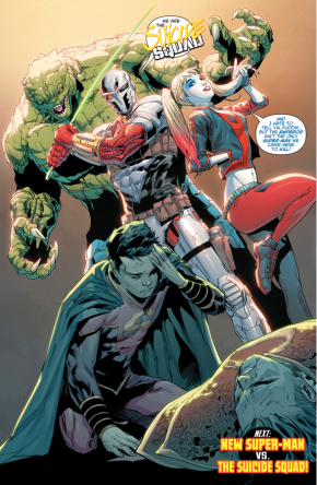 Suicide Squad (New Super-Man #14)