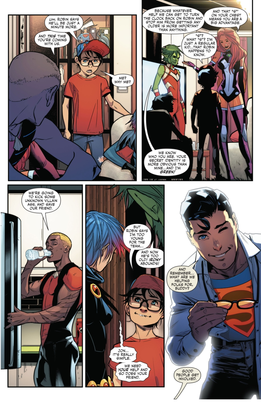Superboy Joins The Teen Titans (Rebirth)